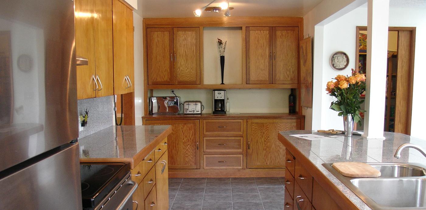Modern redone kitchen